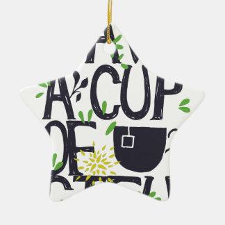 Have a cup of STU Ceramic Ornament