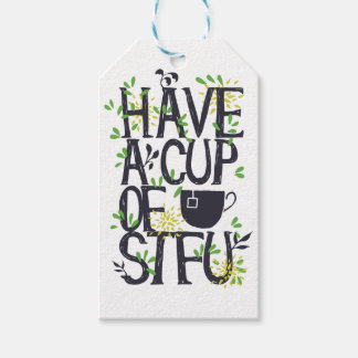Have a cup of STU Gift Tags