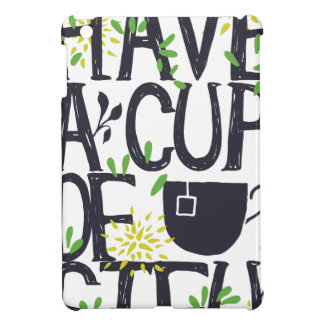 Have a cup of STU iPad Mini Cases