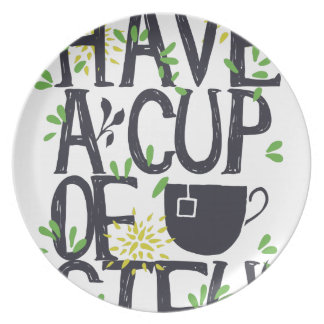 Have a cup of STU Plate