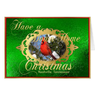 Have a Down Home Christmas from Nashville Card