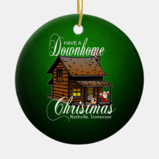 Have a Down Home Christmas Nashville Ornament