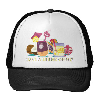 have A drink on ME - cocktails Trucker Hat