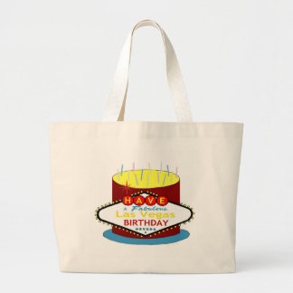 Have A Fabulous Las Vegas Birthday  Cake Tote Bag