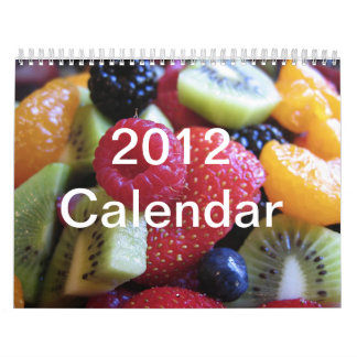 Have a fruity year calendars