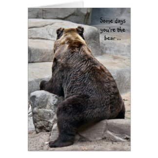 Have a Good Day Bear Card