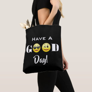 """""""Have A Good Day"""" Emojis Tote Bag"""