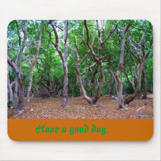 Have a good day mouse pad