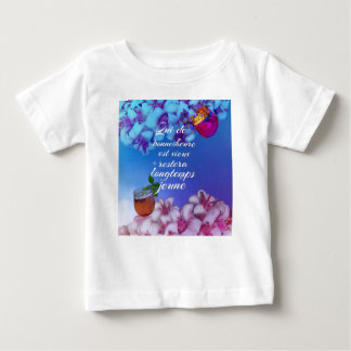Have a good time and you will forever young. baby T-Shirt