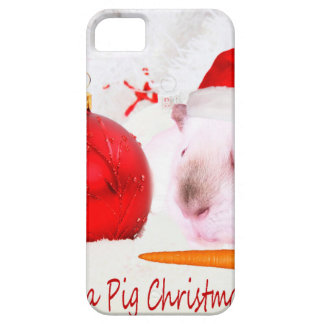 Have a Guinea Pig Christmas iPhone 5 Cases