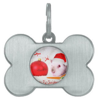 Have a Guinea Pig Christmas Pet ID Tags