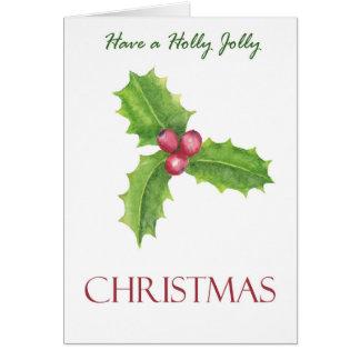 Have a Holly Jolly Christmas | Christmas Card
