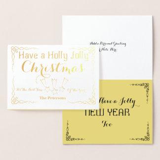 Have a Holly Jolly Christmas - Foil Card