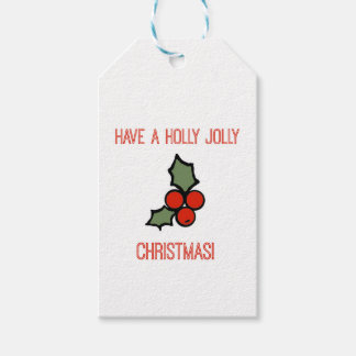 Have a Holly Jolly Christmas Gift Tag