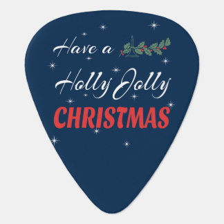 Have a Holly Jolly Christmas Guitar Pick