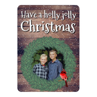 Have a Holly Jolly Christmas - Holidayzfordayz Card