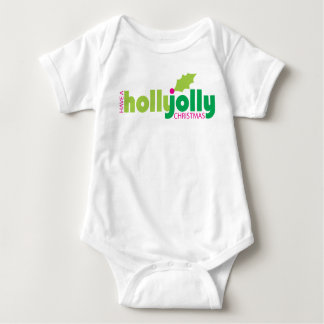 Have a Holly Jolly Christmas Infant Baby Bodysuit