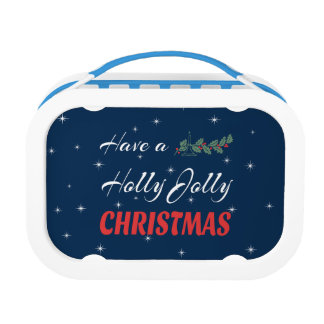 Have a Holly Jolly Christmas Lunch Box