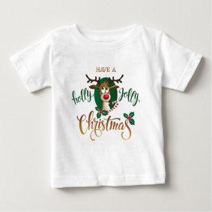 5b5b1dae0 Holly Jolly Christmas Baby Tops   T-Shirts