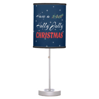 Have a Holly Jolly Christmas Table Lamp