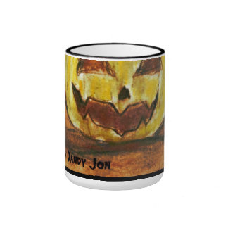 Have a Holly Jolly Halloween Ringer Coffee Mug