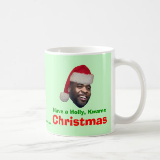 Have a Holly, Kwame, Christmas Coffee Mug