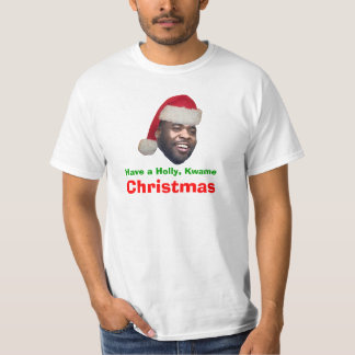 Have a Holly, Kwame, Christmas T-Shirt