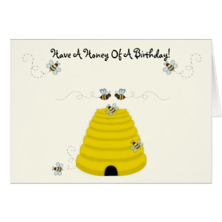 Have a Honey of a Birthday Card