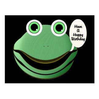 Have A Hoppy Birthday Postcard