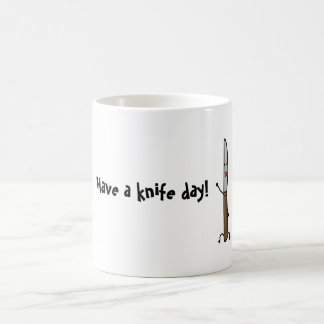 Have A Knife Day! Pun Mug