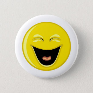 Have a Laugh Smiley Face 2 Inch Round Button