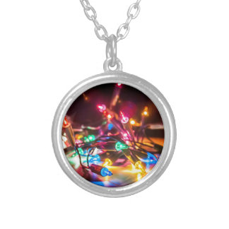 have a merry Christmas Silver Plated Necklace