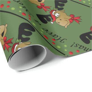 Have a Merry Moosemas | Christmas Wrapping Paper