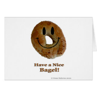 Have a Nice Bagel! Card