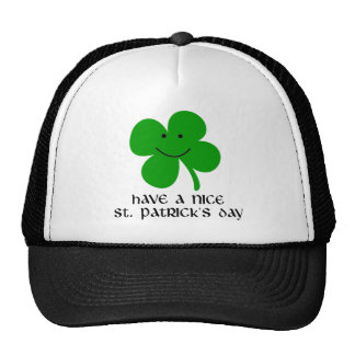Have a Nice St. Patrick's Day Mesh Hat