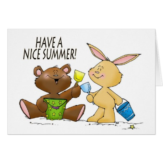 have a nice summer card