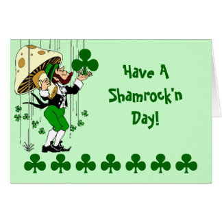 Have A Shamrock n Day Card Happy St Patrick s