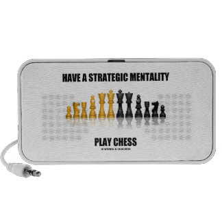 Have A Strategic Mentality Play Chess iPod Speakers