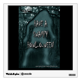 Have a Swampy Howl-O-Ween Wall Decal