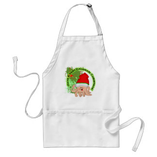 Have a Very Calamari Christmas! Standard Apron