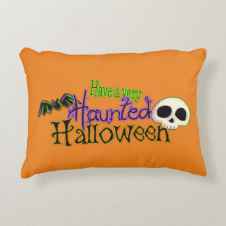 Have a Very Haunted Halloween Accent Pillow