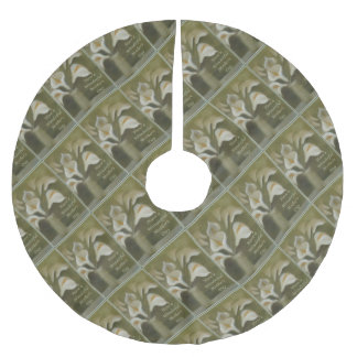 Have A Wonderful Mother's Day - Calla Brushed Polyester Tree Skirt