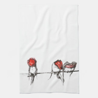 Have a wonderfully weird day.  Original design Kitchen Towel