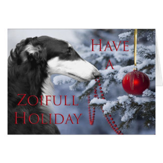 Have A Zoifill Holiday Card