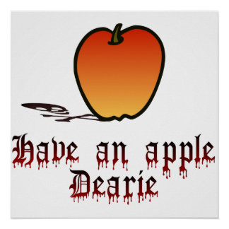 Have an Apple Poster