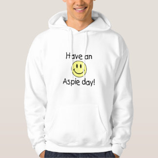 Have An Aspie Day (Smiley) Hoodie