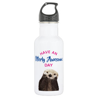 Have an Otterly Awesome Day Cute Otter Photo 532 Ml Water Bottle