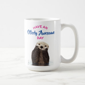 Have an Otterly Awesome Day Cute Otter Photo Coffee Mug
