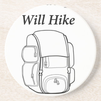 Have Backpack Will Hike Coaster