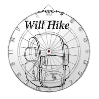 Have Backpack Will Hike Dartboard